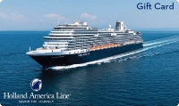 Holland America's gift card offer